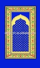 muslim polyester prayer mat print prayer mat