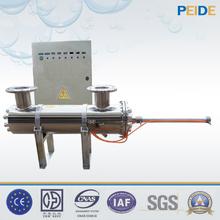 320w 230v60hz SS304 2 pc uv lamp triclamp tank water disinfection uv sterilizer