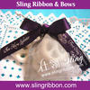 Christmas Gift Ribbon Printed Gift Wrapping Bows for Wholesale