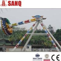 24 seat steel Thrilling amusement park big pendulum rides