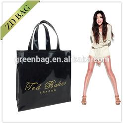 China Wholesale Shiny PVC most popular designer tote bags