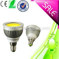 5W Gu10,E27,E14,B22 COB LED Spot Light Spotlight Bulb Lamp High power lamp 85-265V Warranty 2 years CE ROHS
