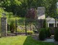 Utilizado para el hogar puerta de hierro forjado( fabricante)