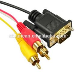 4K 10.2gbps TV HDTV adapter vga rca red white yellow