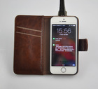 Competitive Price Leather Wallet Case for iPhone 5 5s