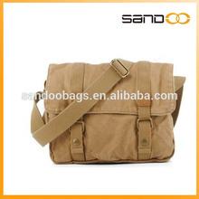 Men's Retro Canvas Messenger Bag Hiking School Satchel shoulder bag