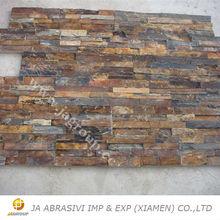 Natural slate stone rusty slate for wall