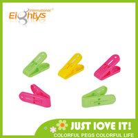 china supply fashion small plastic clips