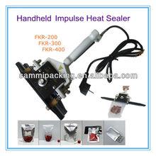 FKR-400 Plastic Film bag Hand clamp-sealing machine /hand clamp aluminium bag heat sealer