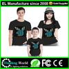 el shirt /wholesale led panel t shirt,Super cool and fantastic equalizer led el shirts