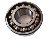 Double row angular contact ball bearings 5205 in China manufacturer