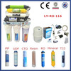 Portable 8 stage reverse osmosis water filter purifier/ro water filter parts with CE certificate