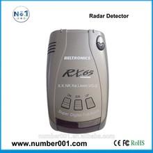 Full band car radar laser detector with high alert rate