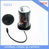 Wifi 360 degree rotation cctv hidden cameras p2p voice dialogue YZ011