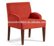 modern design fabric single seat sofa red chairs