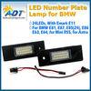 LED license plate lamp for BMW E81 E87 E87N E85(Z4) E86(Z4 coup) E63 E63N E64(M6) E64N Min R55 Ast H GTC(Salon)