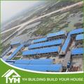 Chaude! Chine maison préfabriquée prix/préfabriqués armature en acier maison
