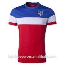 USA Soccer jersey /Cheap Soccer Jersey/2014 World Cup wholesale Soccer Jersey