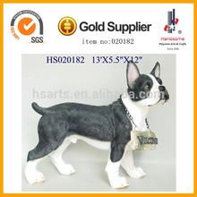 Polyresin home Decoration Figurine decoration statue resin dog