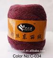 Toray soie, velvet fibre de laine de coton