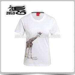 Top sale custom t shirt women china wholesale