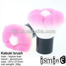 Soft nylon hair flower shap kabuki brush makeup brush