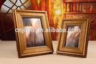 high-grade ,Desktop gilding picture frames,patterned PS photo frame