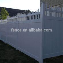 cheap pvc plastic fence designs