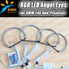 High brightness good quality 42pcs 5050SMD headlight multi-color led rgb angel eyes for BMW E46 Non-projector