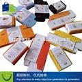 mejor venta de jabón brillante cosméticos cajas de fabricante