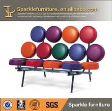 Modern colourfull loveseat marshmallow sofa design