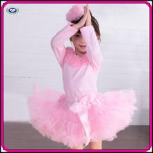 Hot Products tutu skirt pink cute cheap short birthday tutu dress for kids