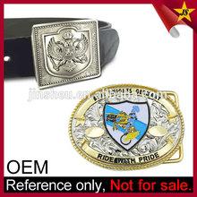 Wholesale Original Eagle Leather Belt US Custom Military Buckle