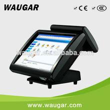 HOT Design ! 15 '' Dual touchscreen pos system / cash register