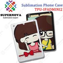 For iPad MINI 2 Sublimation Rubber Case
