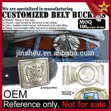 Wholesale fashion custom metal men belt buckle