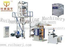 high quality pe stretch wrap film blowing machine