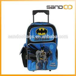 Batman Large rolling bag trolley bag kids trolley bag