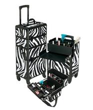 4 Wheeled Spinner Aluminum Makeup Case