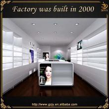 Professional Custom fashion cosmetic store furniture design from Guangzhou