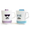 color changing mug,hot sensitive ceramic mug,Uncle Series Ceramic Color Changing Mug Cup