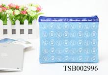 Fashion Promotion Small Zipper Nonwoven Travel Makeup Bag 2014