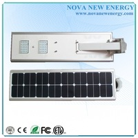 15W led integrated solar street garden light for home use