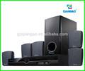 5,1 mini home theater/cinema sistema audio diffusori sistemi qg353sd