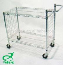 low price wire shelf wire mesh shelf cart