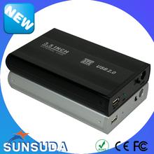 High Quality 3.5 Inch USB 2.0 to SATA External Storage Case Hard Disk Drive Enclosure 3.5 HDD Case for desktop