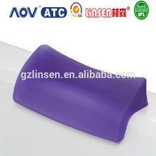 Wholesale PU gel foam baby spa back bath pillow