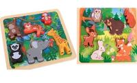 Wooden cartoon custom Jigsaw Puzzle