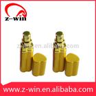 Z-WIN 23*80mm 10ML Gold Heart Shaped Aluminum Perfume Bottle
