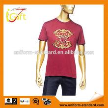 Wholesale 100% cotton brands t shirts crew neck cheap brands love couple t shirt design (T461)